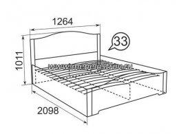 Детская кровать Виктория Ижмебель