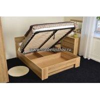 Основание кровати с бельевым ящиком 1,4*2,0 (к кровати Ш3в)