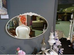 Зеркало FRANCA отделка молочно-белый матовый лак (U03)