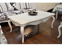 Журнальный столик PAOLA отделка молочно-белый матовый лак (U03)