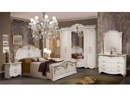ДЖОКОНДА набор мебели для спальни (беж) (с новой короной)