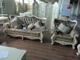 Мягкая мебель для жилой комнаты МИЛАНО 8802-А Фабрики Китая