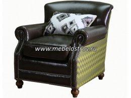 Кожаное кресло для дома ПРОВАНС Фабрики Китая