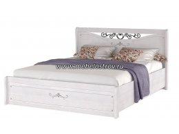 Афродита Кровать двойная 1,4 компл-2 (ПМ) с подъёмным механизмом в комплекте, без матраца