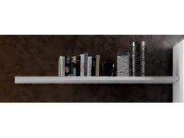 Полка навесная PALERMO отделка белый блестящий лак