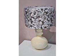 Настольная лампа PALERMO отделка бежевый блестящий лак beige gloss lacquer