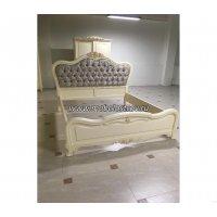 Милано Кровать 1800*2000 изголовье -ткань со стяжками
