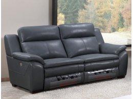 Мягкая мебель с электро реклайнером  (кожа + иск. кожа)
