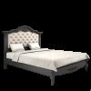 BELVEROM (БЕЛЬВЕРУМ) Кровать 140*200 с мягким изголовьем