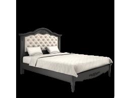 BELVEROM (БЕЛЬВЕРУМ) Кровать 140*200 с мягким изголовьем с ламелями