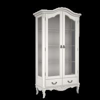 BELVEROM (БЕЛЬВЕРУМ) Витрина 2-х дверная с зеркалом