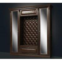 БЛАГО-5 Б5.1-2(2з) Прихожая с 2-мя шкафами (с двумя зеркальными дверьми)