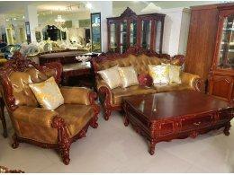 Кожаная мягкая мебель ЕЛИЗАВЕТА Фабрики Китая