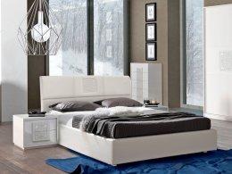 Деревянная кровать DAMA (ДАМА) 1,8 (экокожа) Tutto Mobili