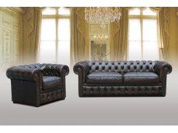 CHESTERFIELD (ЧЕСТЕРФИЛЬД) Мягкая мебель из кожи