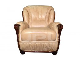 Кожаное кресло для дома CROSIER (КРОСЕР) JPL