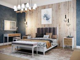 Деревянная кровать СКАНДИ ШИК Мебель России
