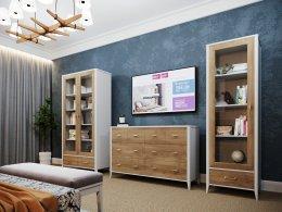 Модульная мебель для гостиной СКАНДИ ШИК Мебель России