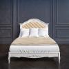 BELVEROM (БЕЛЬВЕРУМ) Кровать 120*200 с мягким изголовьем с ламелями