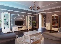 Модульная мебель для гостиной BELVEROM (БЕЛЬВЕРУМ) Алетан Вуд