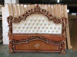 Деревянная кровать КАРОЛИНА Фабрики Китая