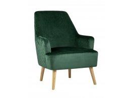 Кресло Хантер велюр зеленый