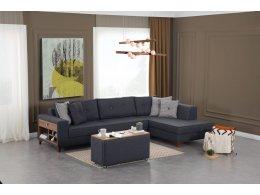 Угловой диван YILDIZ с сундуком Фабрики Турции