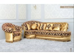 Прямой диван ELIZABETH (ЭЛИЗАБЕТ) Francheska mobili