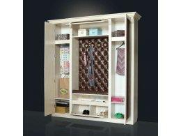 БЛАГО-5 Прихожая с 2-мя шкафами (с одной зеркальной дверью)